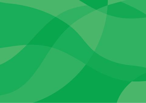 Geometric pattern curve green