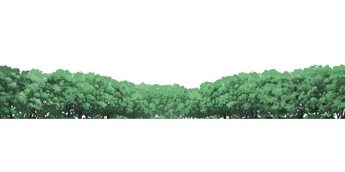 Distant tree