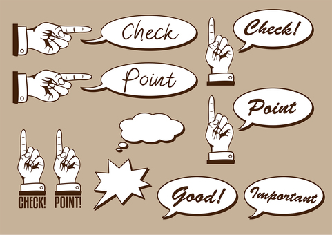 One finger checkpoint