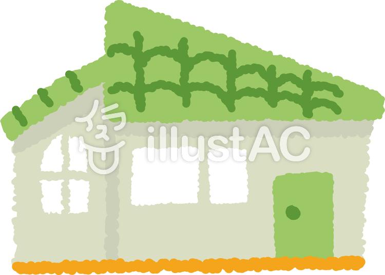 かわいいシンプルな家3イラスト No 730143無料イラストなら