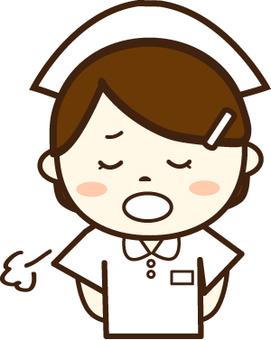Nurse (Troubled face 4)
