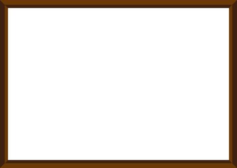 Picture frame (dark brown)