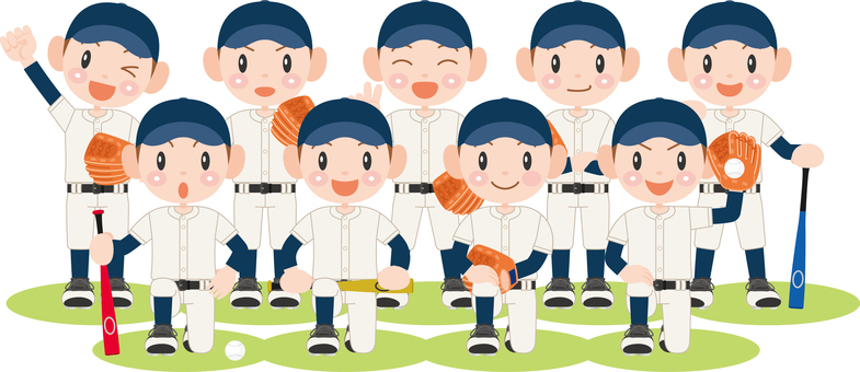 Juvenile baseball team