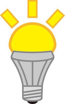 LED bulb / shimmering