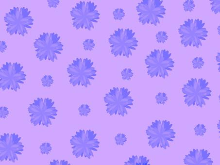 Floral stem wallpaper