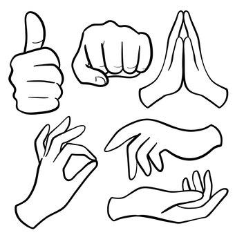 Gesture set