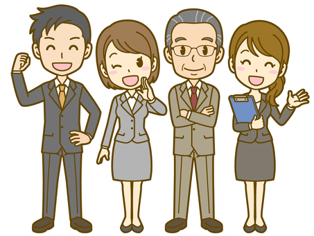 Company employee: boss and subordinate 01FS
