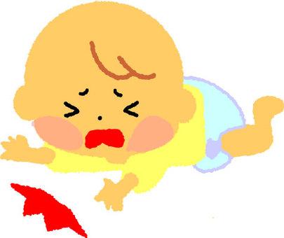 寶貝掉下來