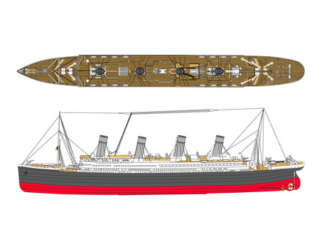 Large passenger boat