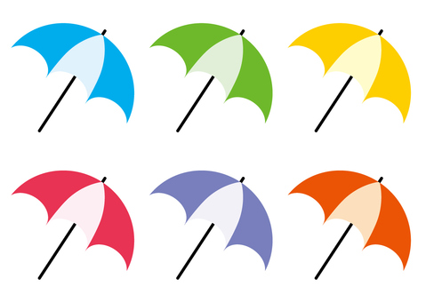 Umbrella with parasol