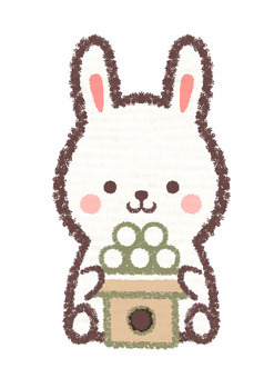 Offering rabbit