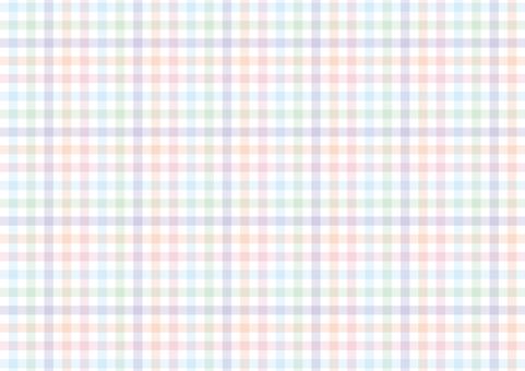 Pastel check pattern details