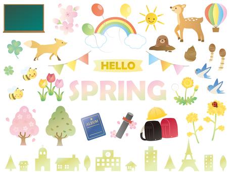 春のイラスト素材集2
