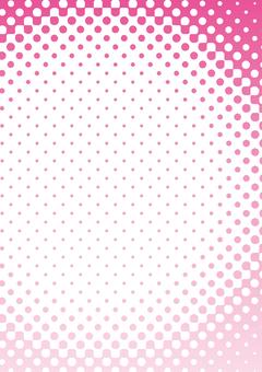 Background _ Dot _ Gradation _ Pink