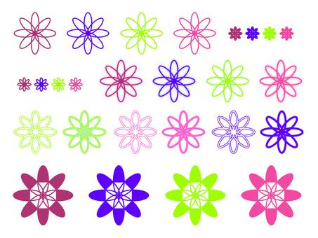 Flower motif 1