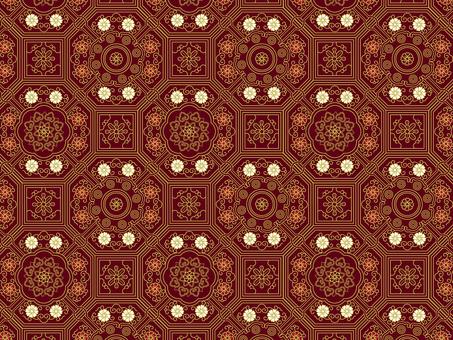 ai Gift pattern / swatch 12