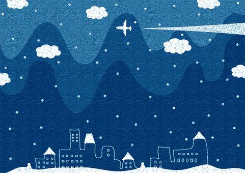 冬天的夜晚