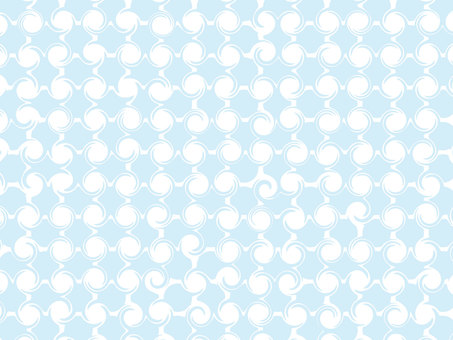 Blue dot background material