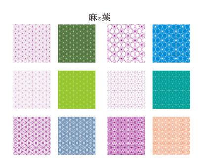 Swatch Series Japanese Pattern Hemp