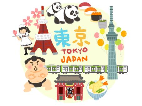 Tokyo sightseeing map
