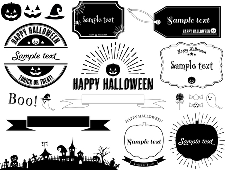 Brooklyn style Halloween set