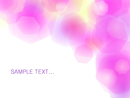 Crystal light pink wallpaper (background material)
