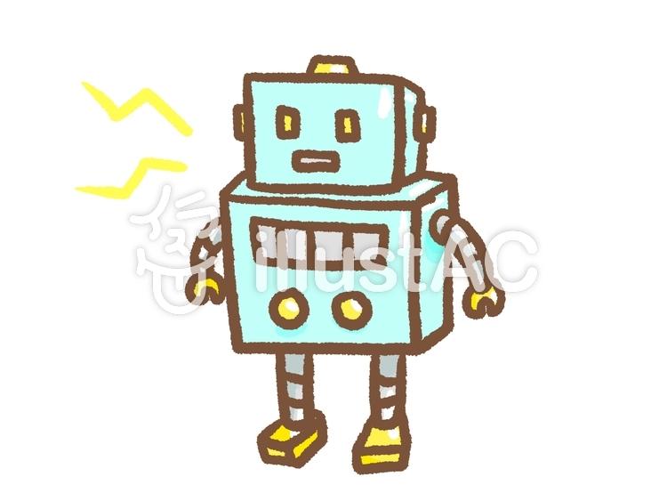 おもちゃのロボットイラスト No 1238487無料イラストならイラストac