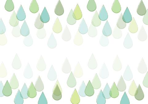 Water drop frame