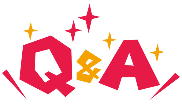 Q & amp; A pop logo ☆ question and answer ☆ icon