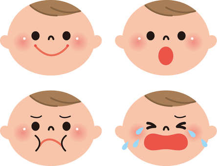 Baby (facial expression 4)