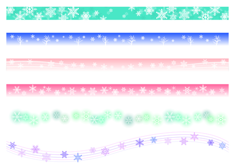 【Ai, png, jpeg】 Winter material 27