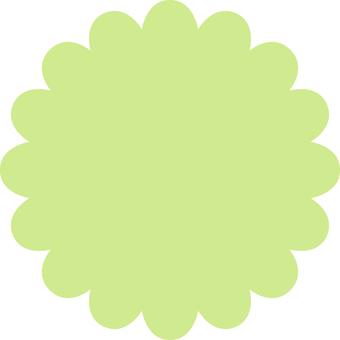 Mokumoku _ yellow green