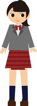 Schoolgirl in uniform 3
