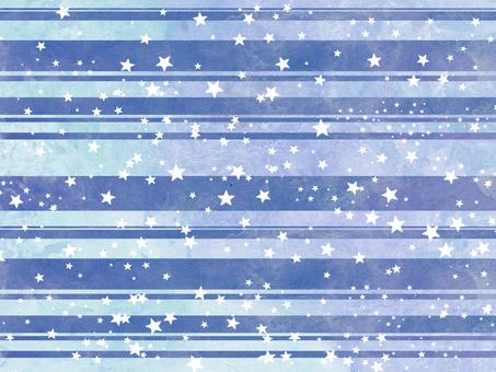 Watercolor star wallpaper ⑤