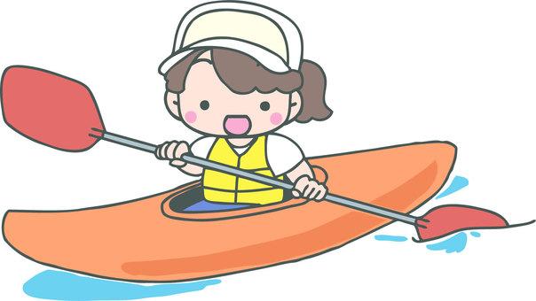 Canoe (girl)