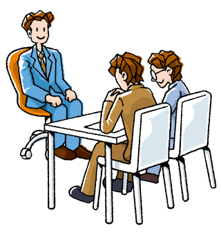 Interview is nervous