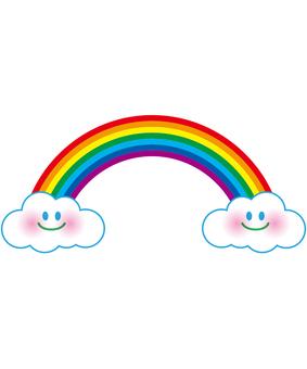 微笑的彩虹