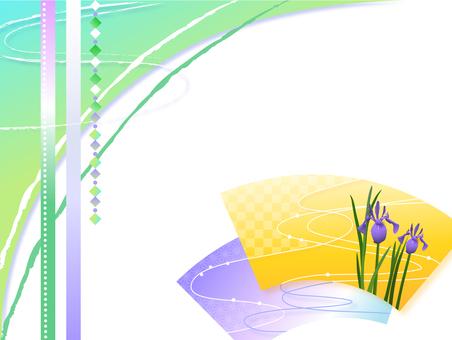 Iris frame