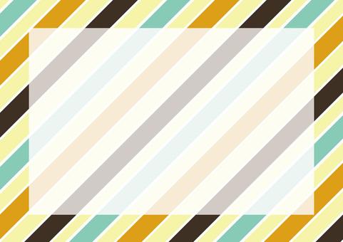 Retro 3 color stripes 2