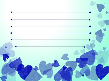 Blue Heart Card 2