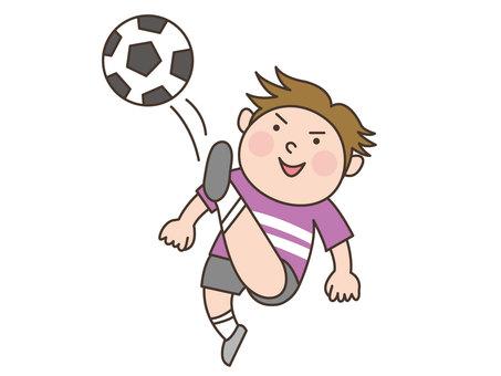 人物/子供/サッカー