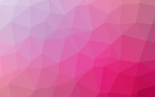 Wallpaper * Polygon pattern (pink)