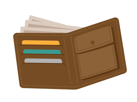Wallet and banknote 1