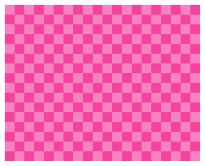 2 color check - pink