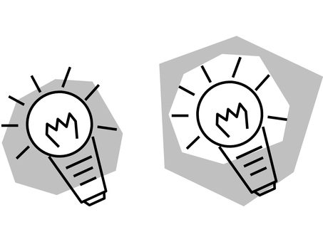 Light bulb (monochrome)