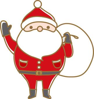 Christmas material 23 Santa