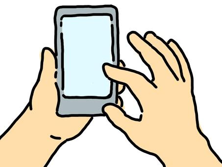 Operation of smartphone