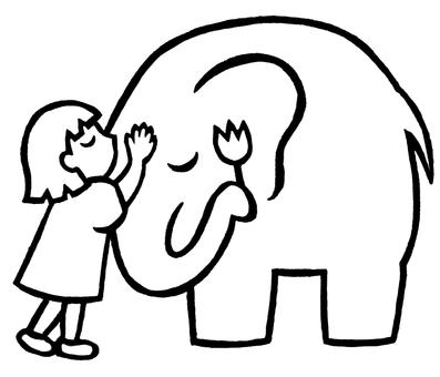 Kiss on Elephant