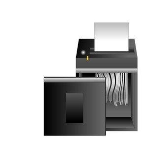 碎纸机(黑色)