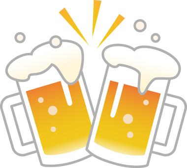 70615. Beer toast